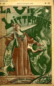 La France Et L'Italie. La Vie Litteraire. - Couverture - Format classique