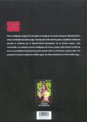 Sas t.1 ; pacte avec le diable - 4ème de couverture - Format classique