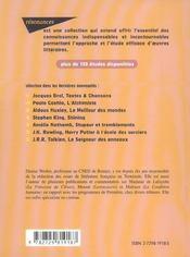 Etude Sur Le Desert Des Tartares Dino Buzzati - 4ème de couverture - Format classique