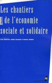 Les chantiers de l'économie sociale et solidaire - Couverture - Format classique