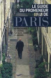 Le guide du promeneur de Paris - Intérieur - Format classique