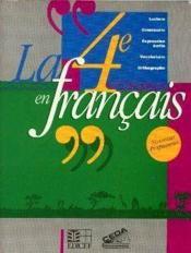 La 4e En Francais (Cote D'Ivoire) - Couverture - Format classique