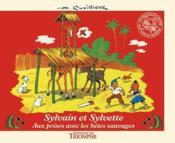 Sylvain et Sylvette t.10 ; aux prises avec les bêtes sauvages - Couverture - Format classique