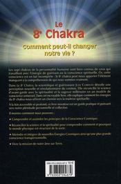 Le 8e Chakra ; Comment Peut-Il Changer Notre Vie ? - 4ème de couverture - Format classique