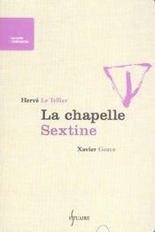 La Chapelle Sextine - Intérieur - Format classique