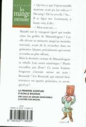 Les Mange-Memoire N142 - Bouzouk T1 - Couverture - Format classique