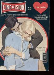 Album Bd - Cine Vision - Trimestriel N°21 Pour Adultes - Les Justes - Couverture - Format classique