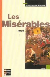 Les misérables ; extraits - Intérieur - Format classique