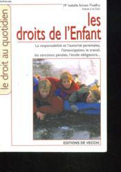 Les Droits De L'Enfants - Couverture - Format classique