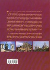 Sur Les Pas De Napoleon Ier En Terre De France - 4ème de couverture - Format classique