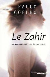 Le Zahir - Couverture - Format classique