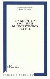 Les nouvelles frontières de l'intervention sociale - Intérieur - Format classique