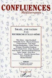 Israël, une nation à la recherche d'elle-même - Couverture - Format classique