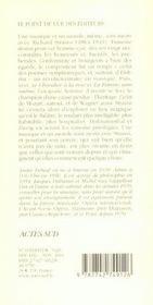 Richard Strauss Ou Le Voyageur Et Son Ombre - 4ème de couverture - Format classique