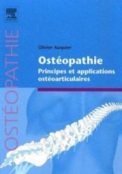 Ostéopathie ; principes et applications ostéoarticulaires - Couverture - Format classique