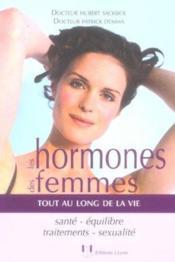 Les hormones des femmes - Couverture - Format classique