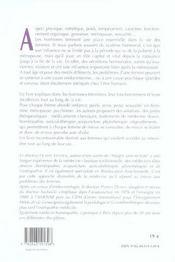 Les hormones des femmes - 4ème de couverture - Format classique