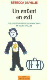 Un Enfant En Exil - Intérieur - Format classique