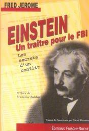 Einstein, Un Traitre Pour Le Fbi ; Les Secrets D'Un Conflit - Intérieur - Format classique