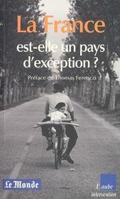 La France Est-Elle Un Pays D'Exception - Intérieur - Format classique