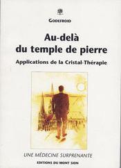 Au-Dela Du Temple De Pierre - Intérieur - Format classique