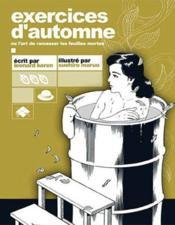 Exercices D'Automne - Couverture - Format classique