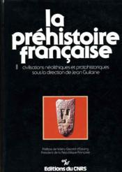 La Préhistoire française. - Couverture - Format classique