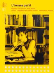 Revue De La Bibliotheque Nationale De France N.41 ; L'Homme Qui Lit ; Benjamin, Debord, Cixous, Redon, Godard... - Couverture - Format classique
