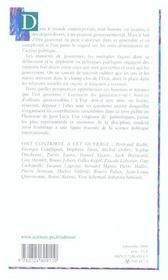 Être gouverné ; études en l'honneur de Jean Leca - 4ème de couverture - Format classique