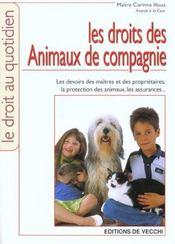 Les Droit Des Animaux De Compagnie - Intérieur - Format classique