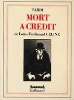 Mort à crédit - Couverture - Format classique