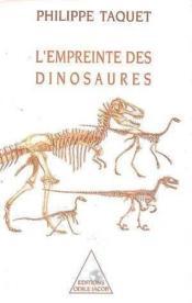 L'empreinte des dinosaures - Couverture - Format classique