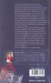 Mémoires d'un silencieux - 4ème de couverture - Format classique