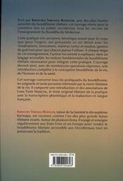 Soigner Guerir Grace Au Bouddha De Medecine - 4ème de couverture - Format classique