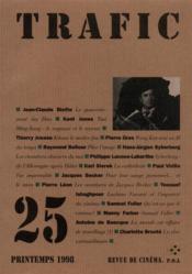 Revue Trafic N.25 - Couverture - Format classique