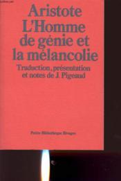 Hom.genie et melanc - Couverture - Format classique