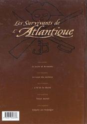 Les survivants de l'Atlantique t.5 ; tempête sur Trafalgar - 4ème de couverture - Format classique