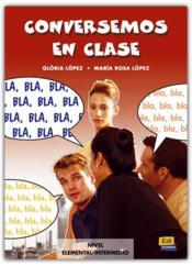 Conversemos En Clase - Couverture - Format classique