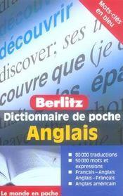 Anglais Poche Dictionnaire En Francais - Intérieur - Format classique
