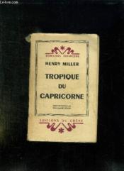 Tropique Du Capricorne. - Couverture - Format classique