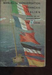 Manuel De Conversation Francais Italien - Couverture - Format classique