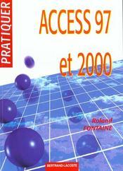 Pratiquer access 97 et 2000 - Intérieur - Format classique