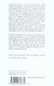 Lew fonesca t.1 ; biscotti à sarasota - 4ème de couverture - Format classique