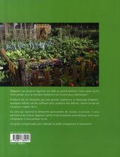 Un coin potager bio - 4ème de couverture - Format classique