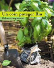 Un coin potager bio - Couverture - Format classique
