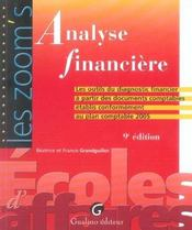 Vente livre :  Zoom's analyse financiere 9eme (9e édition)  - Grandguillot Beatric