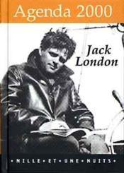 Agenda 2000 Jack london - Couverture - Format classique