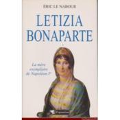 Letizia bonaparte - Couverture - Format classique