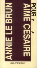 Pour Césaire - Couverture - Format classique