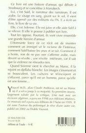 Le Mauvais Oeil - 4ème de couverture - Format classique